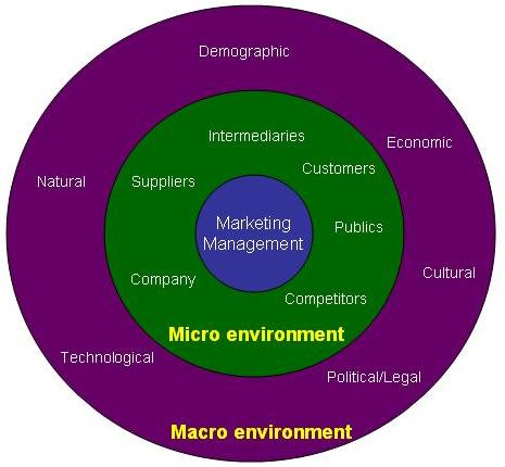 micro & macro global marketing environment